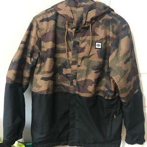Men's medium 686 brand snowboarding jacket